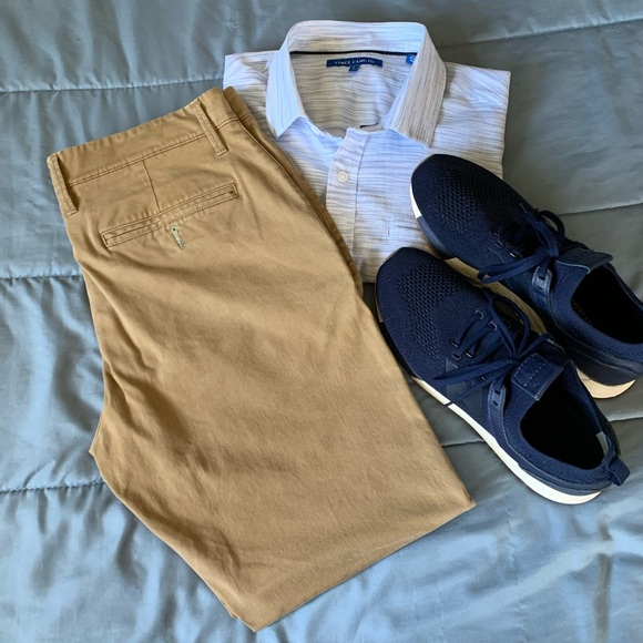 Goodfellow & Co Other - Goodfellow & Co Athletic Fit Chinos Hem & Tapered